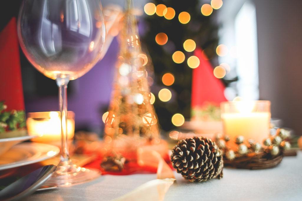Vánoce Airbnb svíčky světýlka
