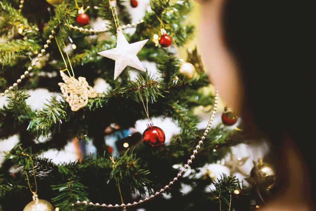 Airbnb vánoční stromeček